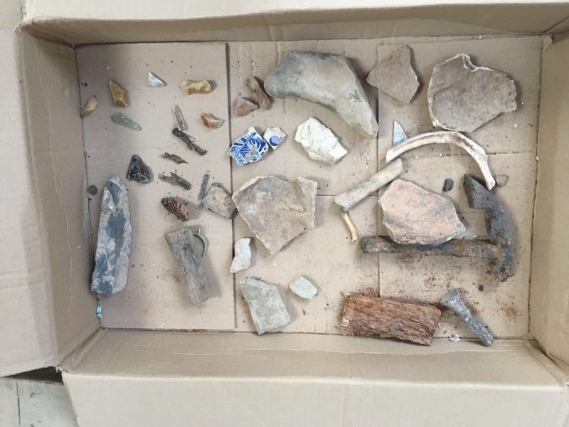 1: Archaeological finds