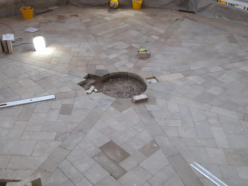 12: Relaying of the Chapter House floor