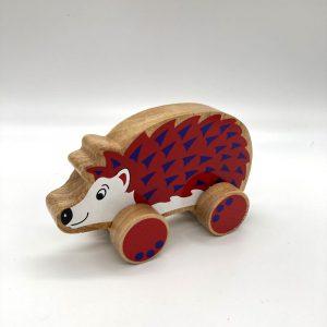 Hedgehog fair trade wooden toy 30