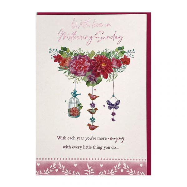 Mothering Sunday card 73