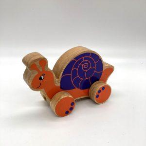 Snail fair trade wooden toy 31