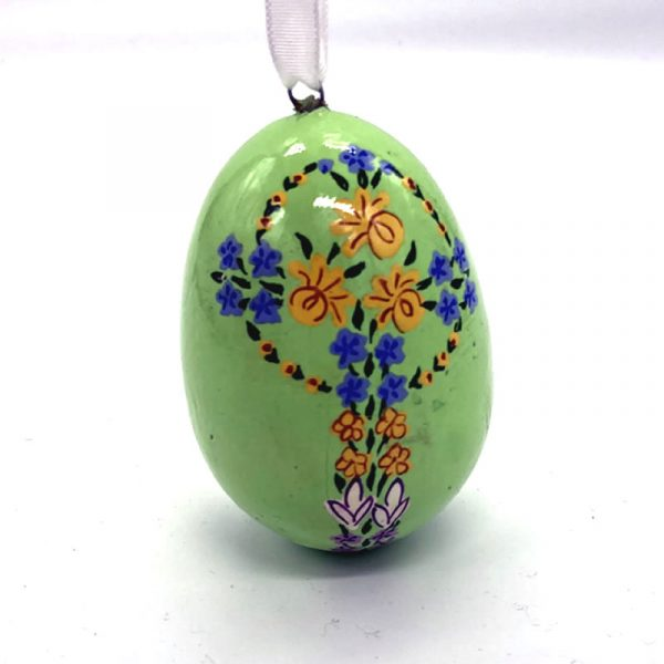large hanging egg fair trade papier mache 159