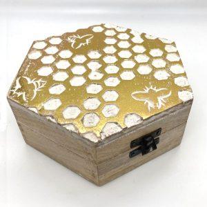 hex bee box