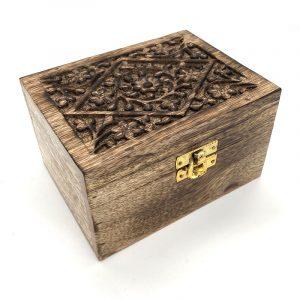 Mango wood aroma box