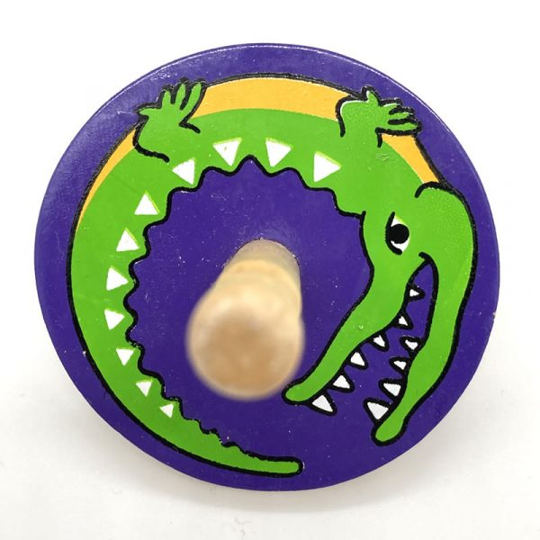 croc spinning top