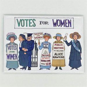 suffragette magnet