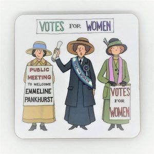 Suffragette coaster