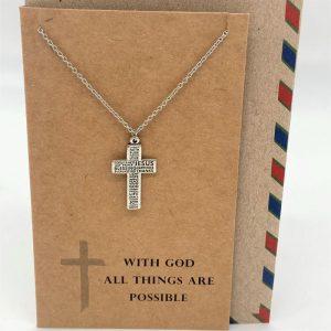 Scripture Cross