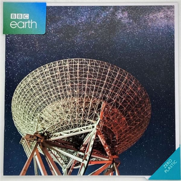 Radio Telescope under Milky Way
