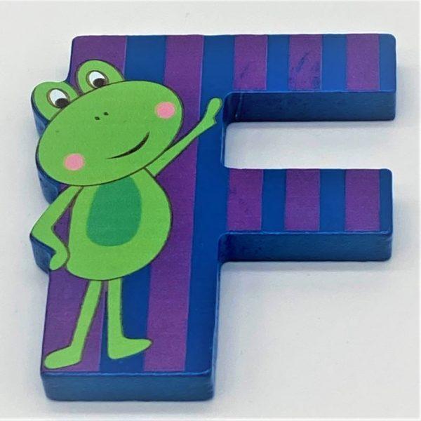 Letter: F