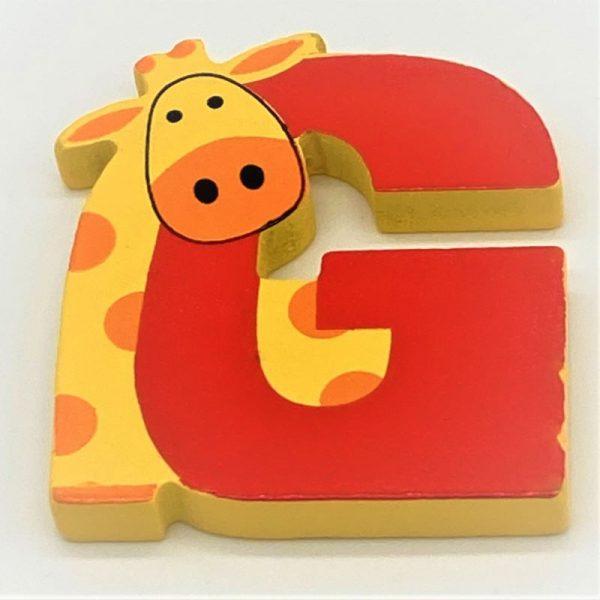 Letter: G