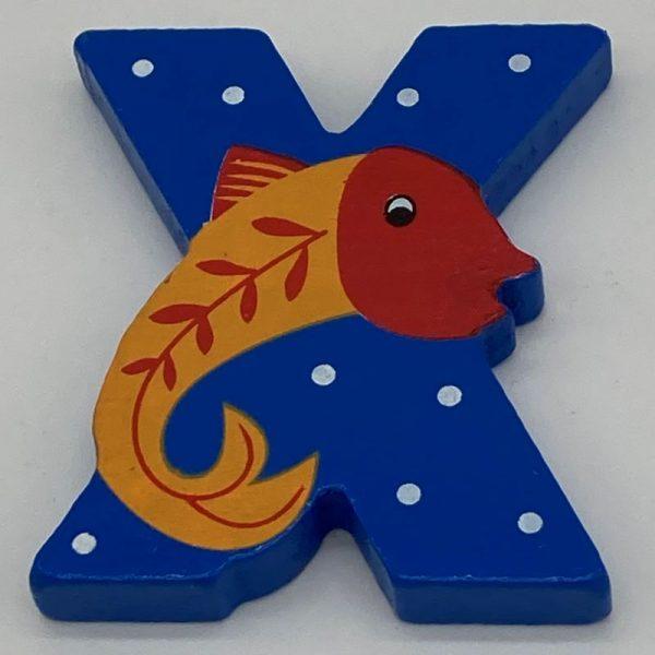 Letter: X