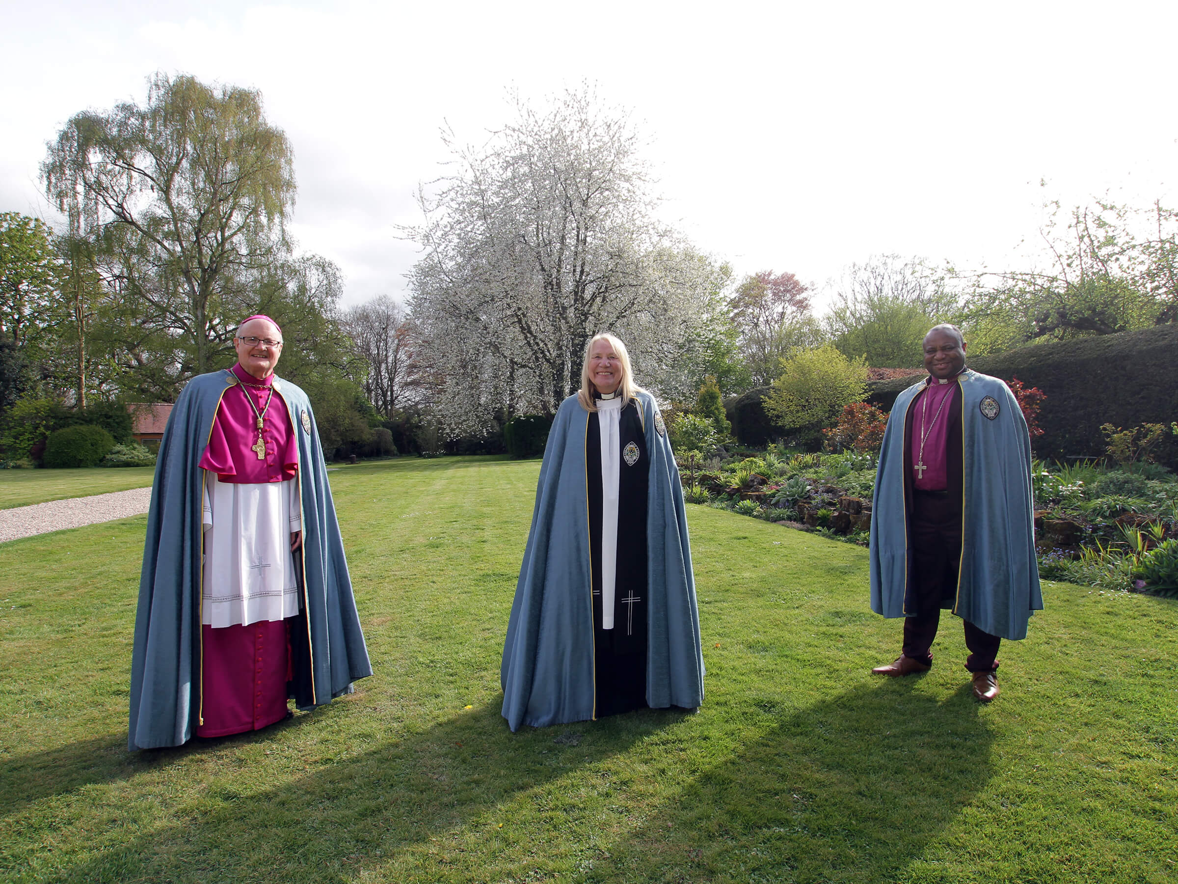 Installation of three New Canons at Southwell Minster