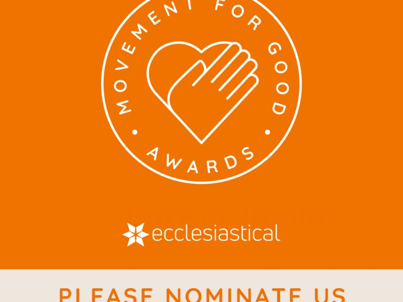 We need your nominations to help us win £1,000