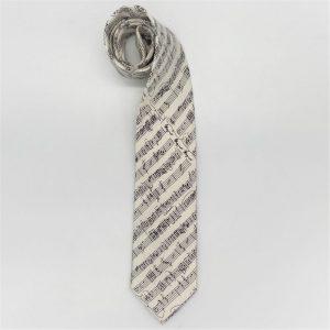 white manuscript tie 2