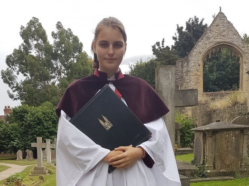 Ellie-Jean, our history-making Head Girl Chorister, appears on ITV Central
